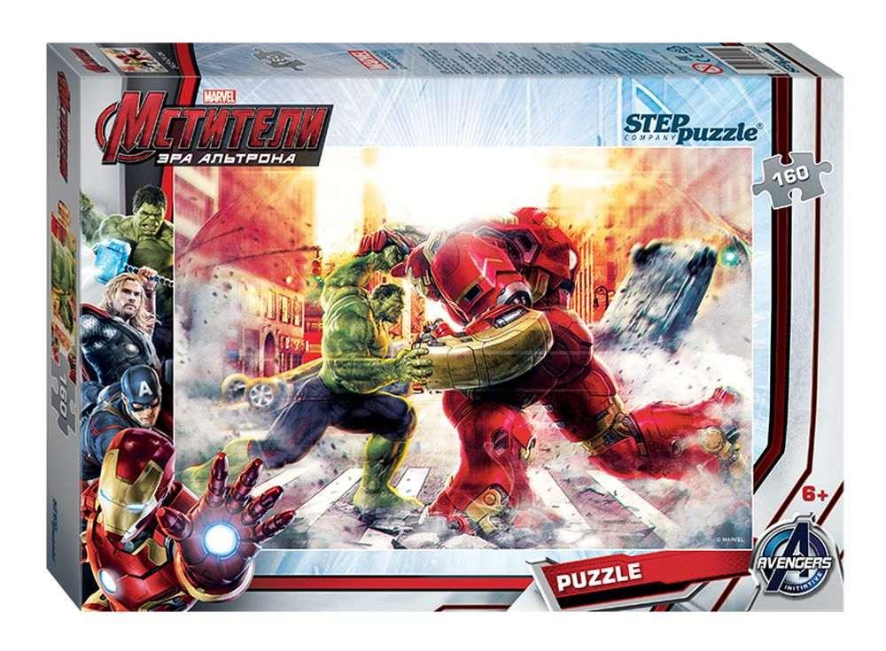 Пазлы «Мстители - 2»Пазлы от производител Step Puzzle<br><br><br>Артикул: 94045<br>Размер: 34,5x24 см<br>Размер упаковки: 28x19,5x4 см<br>Возраст: от 5 лет