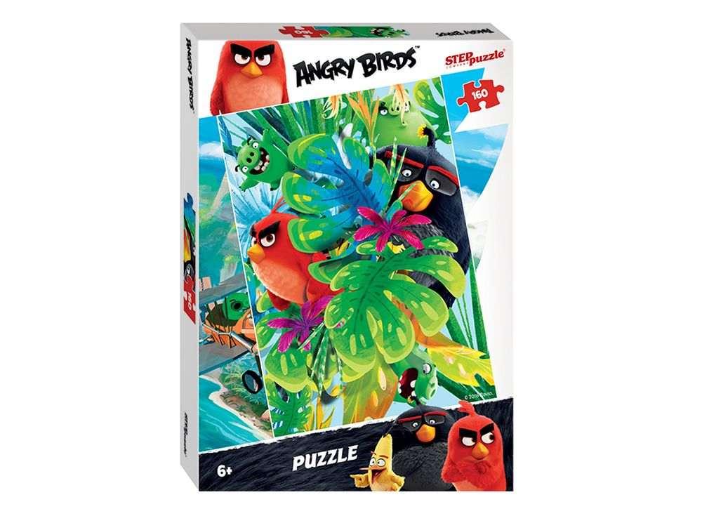 Пазлы «Angry Birds»Пазлы от производителя Step Puzzle<br><br><br>Артикул: 94055<br>Размер: 34,5x24 см<br>Размер упаковки: 28x19,5x4 см<br>Возраст: от 6 лет