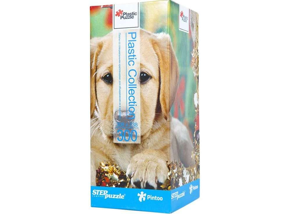 Пластиковый пазл «Щенок»Пазлы от производителя Step Puzzle<br><br><br>Артикул: 98007<br>Размер: 30,8x23,8 см<br>Размер упаковки: 24x10x10 см<br>Возраст: от 6 лет