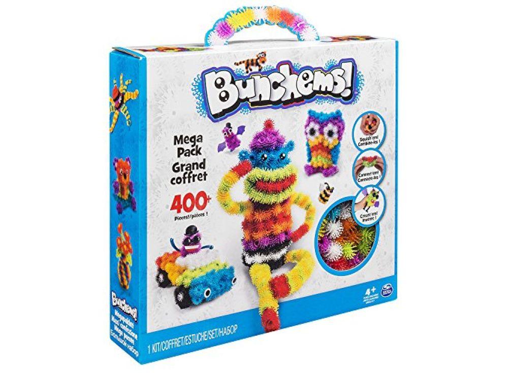 Конструктор-липучка Банчемс (Bunchems) Набор 400 шт.Конструкторы-липучки<br>Конструктор-липучка Банчемс (Bunchems) — это набор из мягких разноцветных шариков, которые легко липнут друг к друга по принципу репейника, образуя фигуры любой формы. <br> <br> Банчемс — это симбиоз конструктора и пластилина, из его шариков можно лепить живо...<br><br>Артикул: BC400<br>Вес: 500 г<br>Материал: Пластик<br>Возраст: от 5 лет