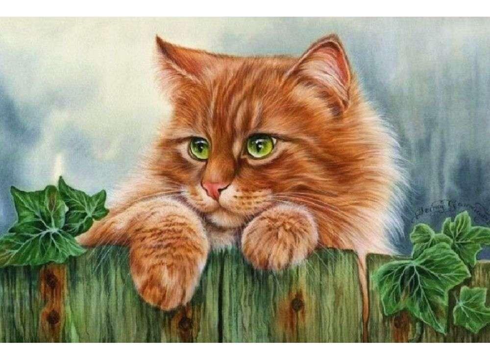 детей для котят картинки рисовать