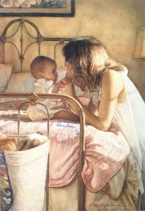 Картина по номерам «Мать и дитя» Стива ХэнксаPaintboy (Premium)<br><br><br>Артикул: GX3420<br>Основа: Холст<br>Сложность: сложные<br>Размер: 40x50 см<br>Количество цветов: 24<br>Техника рисования: Без смешивания красок
