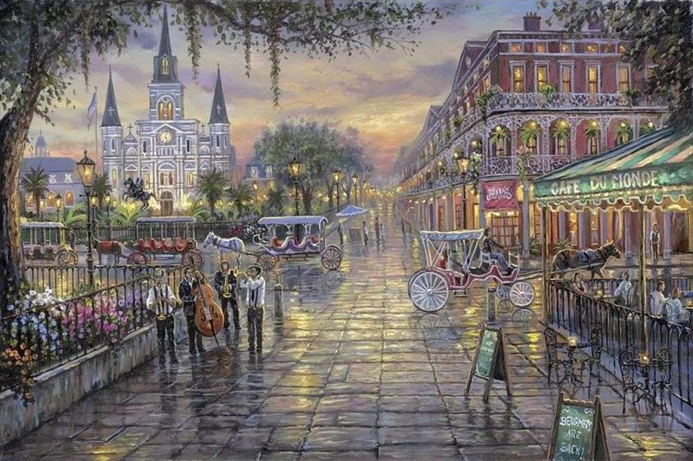«Городские развлечения» Роберта ФайнэлаPaintboy (Premium)<br><br><br>Артикул: GX3867<br>Основа: Холст<br>Сложность: сложные<br>Размер: 40x50<br>Количество цветов: 24<br>Техника рисования: Без смешивания красок
