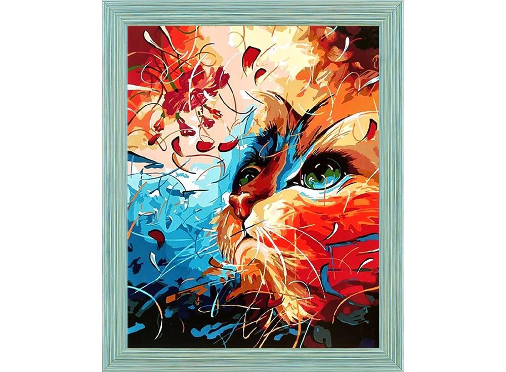 Яркий кот картинки