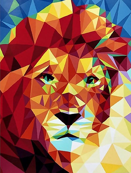 «Портрет льва»Paintboy (Premium)<br><br><br>Артикул: GX4028<br>Основа: Холст<br>Сложность: средние<br>Размер: 40x50 см<br>Количество цветов: 26<br>Техника рисования: Без смешивания красок