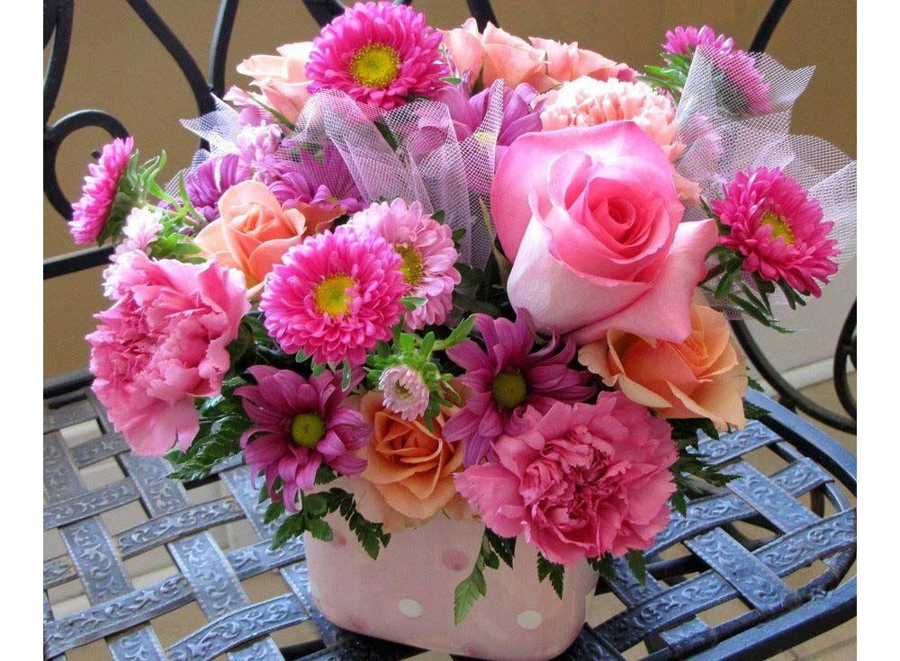 Фото красивые цветы в букете