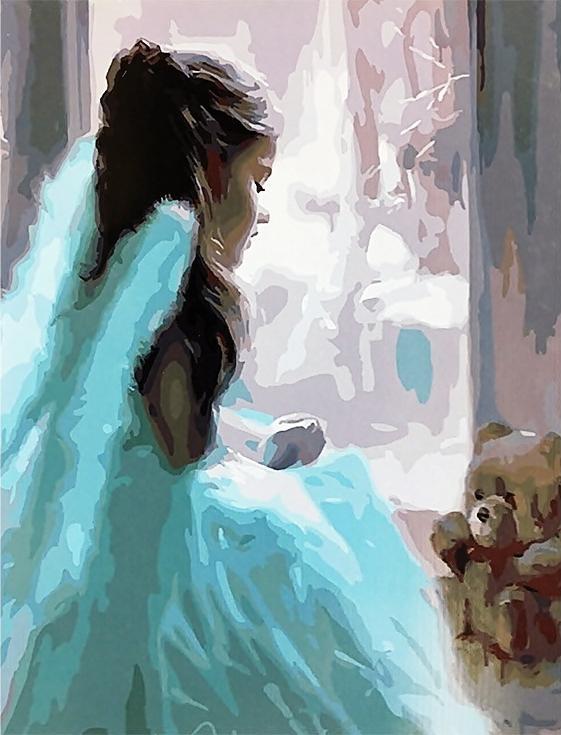 «Милый ангел» Владимира ВолеговаPaintboy (Premium)<br><br><br>Артикул: GX4096<br>Основа: Холст<br>Сложность: сложные<br>Размер: 40x50<br>Количество цветов: 30<br>Техника рисования: Без смешивания красок