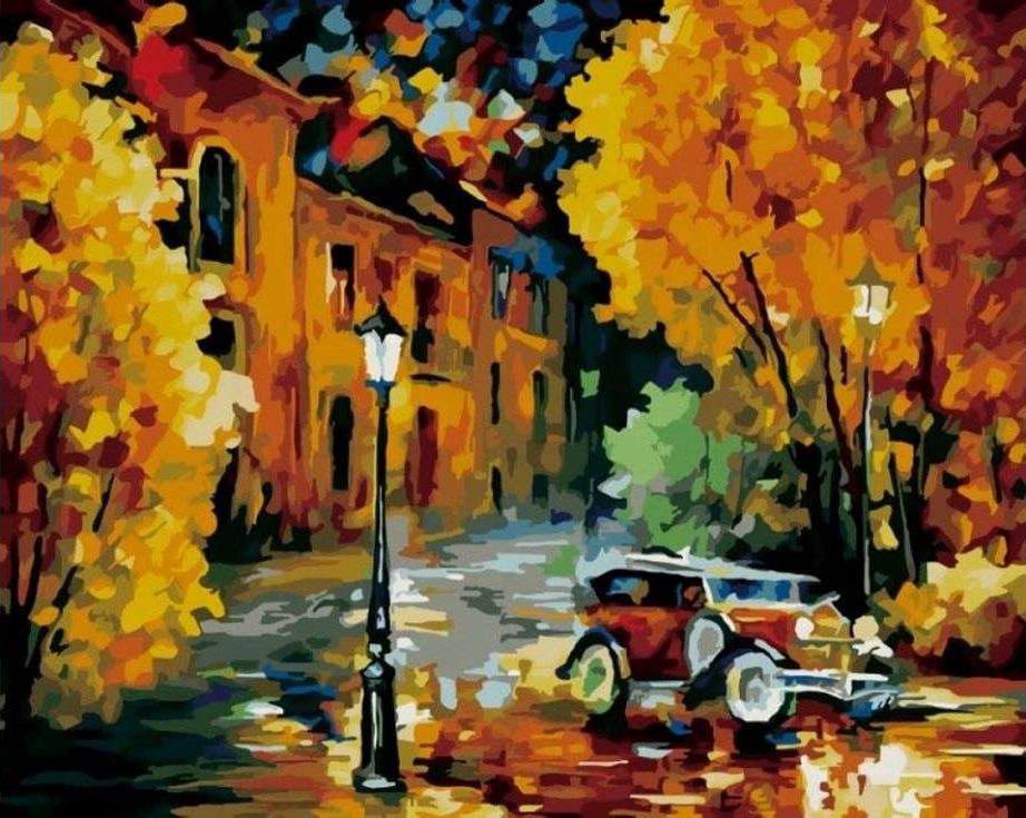«Город» Леонида АфремоваPaintboy (Premium)<br><br><br>Артикул: GX6360<br>Основа: Холст<br>Сложность: сложные<br>Размер: 40x50 см<br>Количество цветов: 26<br>Техника рисования: Без смешивания красок