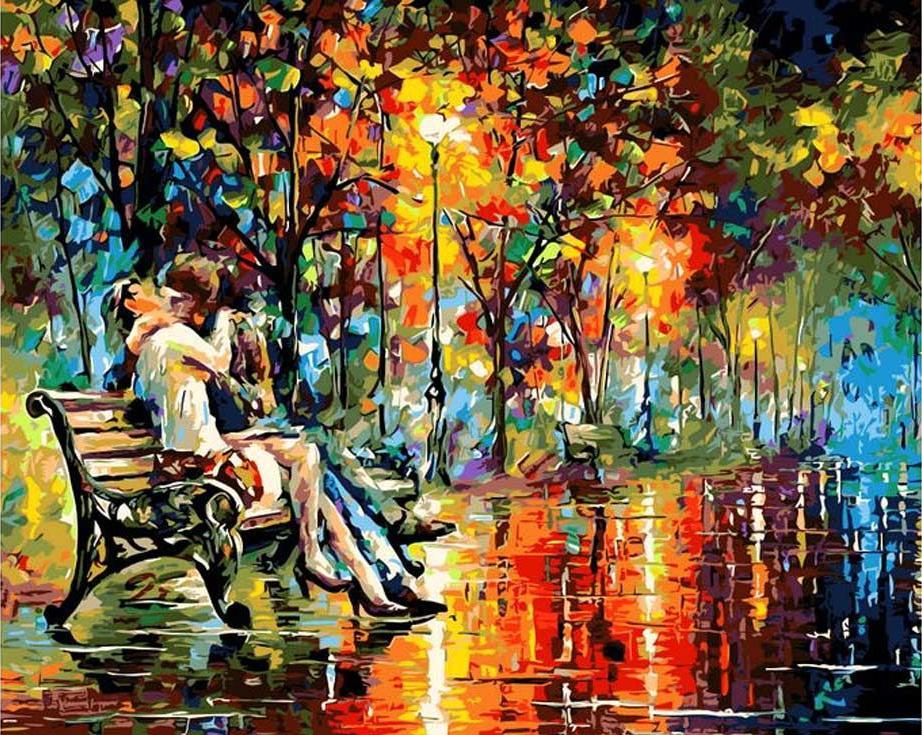 Картина по номерам «Вечер страсти» Леонида АфремоваPaintboy (Premium)<br><br><br>Артикул: GX6389<br>Основа: Холст<br>Сложность: сложные<br>Размер: 40x50 см<br>Количество цветов: 24<br>Техника рисования: Без смешивания красок