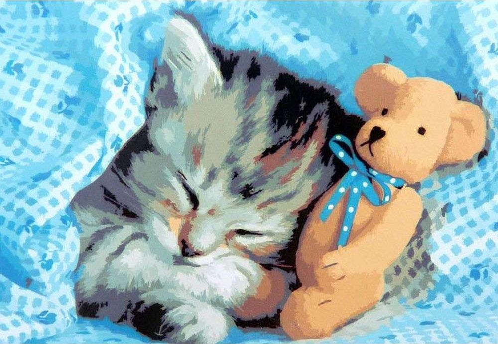 Картина по номерам «Сладкий сон»Paintboy (Premium)<br><br><br>Артикул: GX6529<br>Основа: Холст<br>Сложность: сложные<br>Размер: 40x50 см<br>Количество цветов: 24<br>Техника рисования: Без смешивания красок