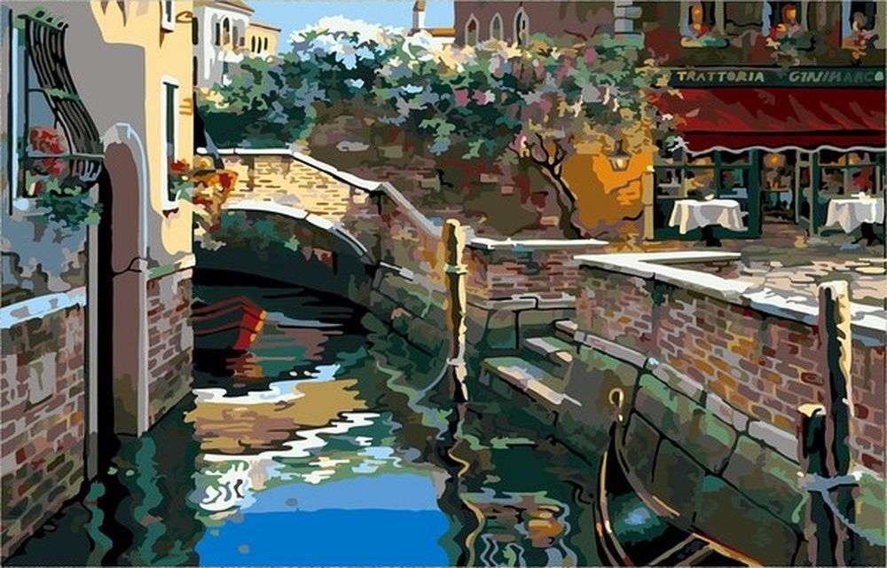 «Венецианские огни» Роберта ПежманPaintboy (Premium)<br><br><br>Артикул: GX7410<br>Основа: Холст<br>Сложность: сложные<br>Размер: 40x50 см<br>Количество цветов: 30<br>Техника рисования: Без смешивания красок