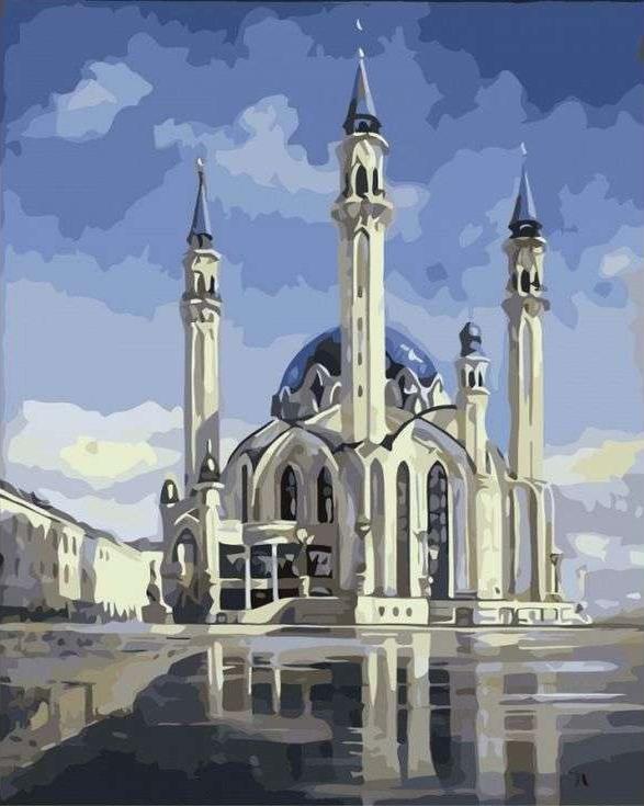 Картина по номерам «Мечеть Кул-Шариф»Paintboy (Premium)<br><br>