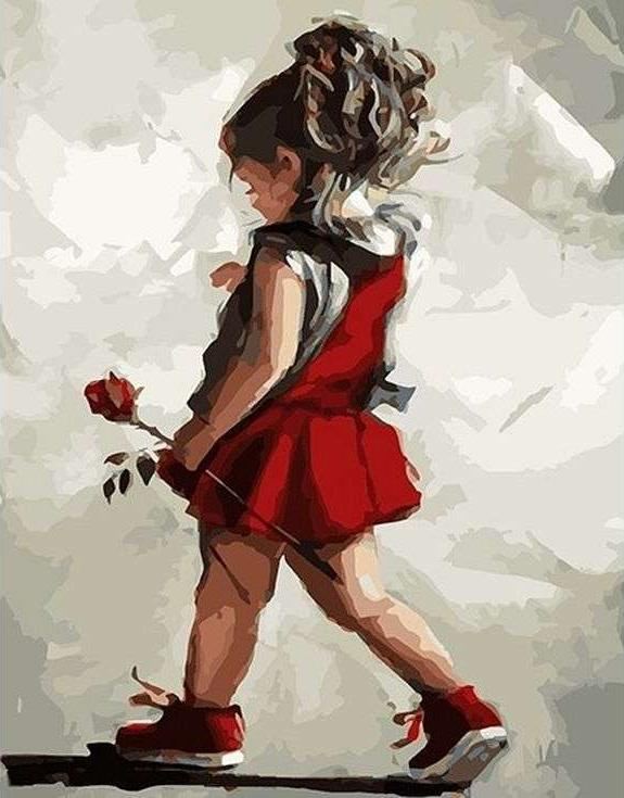 «Роза в подарок маме» Марии ВестхайзенPaintboy (Premium)<br><br><br>Артикул: GX8381<br>Основа: Холст<br>Сложность: сложные<br>Размер: 40x50 см<br>Количество цветов: 29<br>Техника рисования: Без смешивания красок