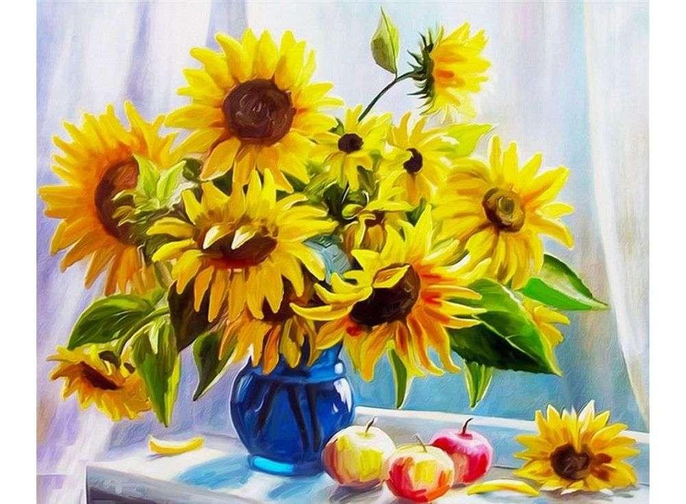 «Солнечное настроение»Paintboy (Premium)<br><br><br>Артикул: GX8692<br>Основа: Холст<br>Сложность: сложные<br>Размер: 40x50 см<br>Количество цветов: 29<br>Техника рисования: Без смешивания красок