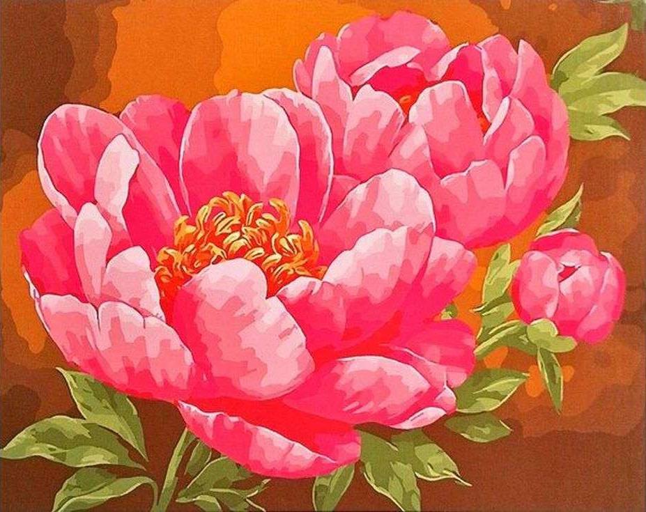 Картина по номерам «Яркая нежность»Paintboy (Premium)<br><br><br>Артикул: GX9307<br>Основа: Холст<br>Сложность: сложные<br>Размер: 40x50 см<br>Количество цветов: 24<br>Техника рисования: Без смешивания красок