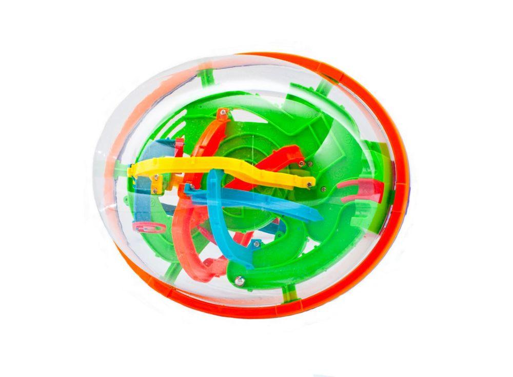 Шар-лабиринт Track Ball 3D 22 см (208 ходов)Шары-лабиринты<br>Шар-лабиринт Track Ball 3D 22 см (208 ходов) — это самая большая игрушка из всей серии шаров-лабиринтов. Чтобы пройти игру, нужно сделать целых 208 ходов, и помните, что сохраниться нельзя, нужно чётно и точно пройти маленьким шариком по всем мостикам, ...<br><br>Артикул: HB047842<br>Вес: 300 г<br>Материал: Пластик<br>Возраст: от 3 лет<br>Количество игроков: 1<br>Аудитория: Детские