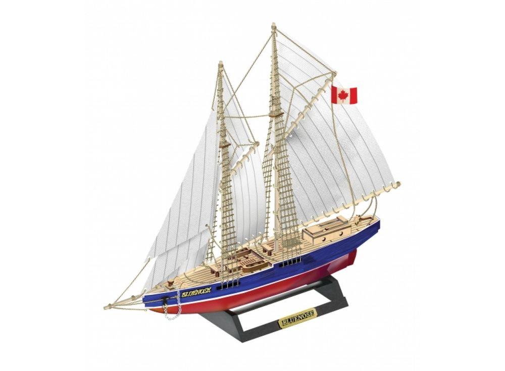 Конструктор из дерева корабль «BLUENOSE» с инструментамиСборные деревянные модели<br><br><br>Артикул: K07N<br>Размер готовой модели: 25x24x4,5 см<br>Материал: Дерево (фанера)<br>Возраст: от 14 лет