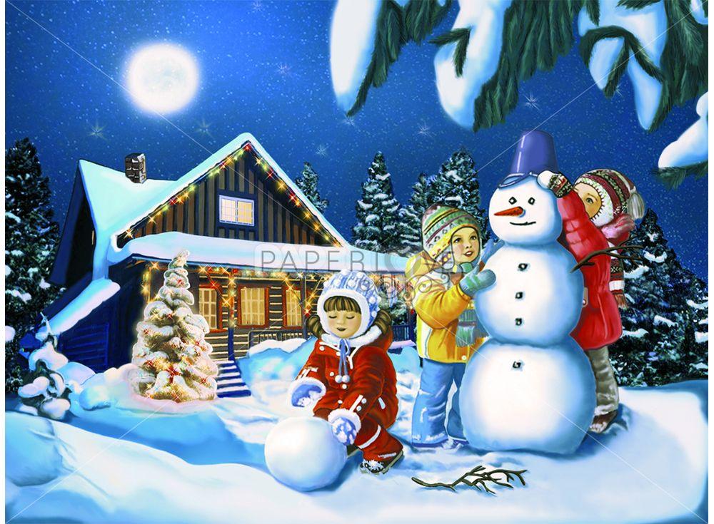 Папертоль «Зимние каникулы»