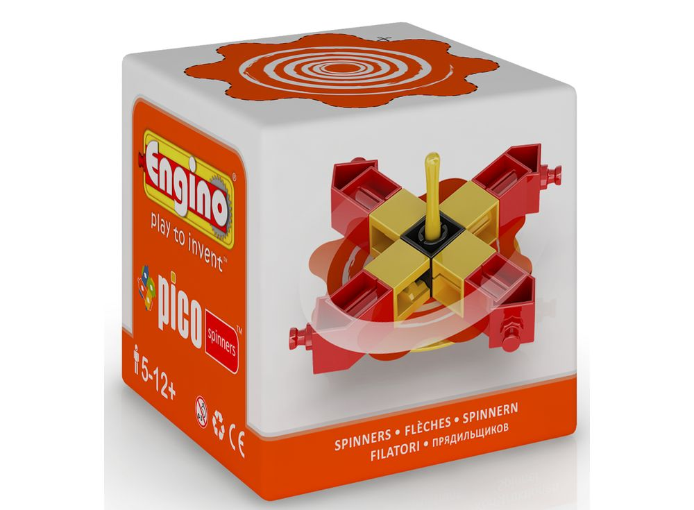 Engino Волчок красныйПластиковые конструкторы (Модели для сборки) Engino<br>Увлекательный конструктор-волчок, который можно собрать самому. Компания Engino разработала специальную серию Pico Spinners — для самых маленьких инженеров. В комплекте поставляется инструкция с подробным описанием процесса сборки. Однако, самое интересно...<br><br>Артикул: PS04<br>Вес: 33 г<br>Серия: PICO SPINNERS<br>Материал: Пластик<br>Размер упаковки: 6x6x6 см<br>Возраст: от 6 лет