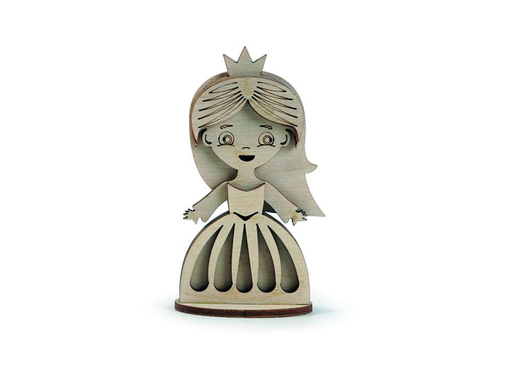 Конструктор «Маленькая принцесса»3D Конструкторы Lemmo<br>Экологически чистые, развивающие конструкторы от российского производителя Lemmo помогут вашему ребенку развить мелкую моторику рук, воображение, пространственное мышление, логику и познакомят с предметным моделированием.<br> <br>Все детали выполнены из кач...<br><br>Артикул: СК-5<br>Вес: 30 г<br>Размер готовой модели: 6x2,7x10 см<br>Материал: дерево (фанера)<br>Возраст: от 5 лет