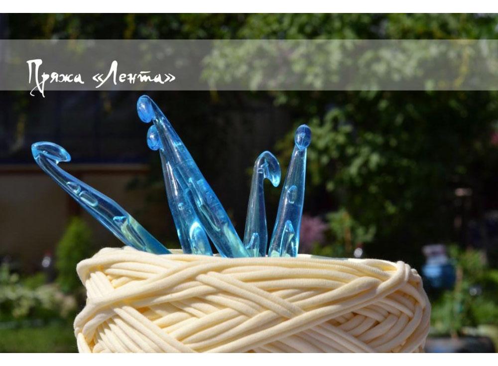 Крючок для вязания  № 8 из пластикаАксессуары для вязания<br><br><br>Артикул: Lnt01sp<br>Размер: №8<br>Материал: Пластик
