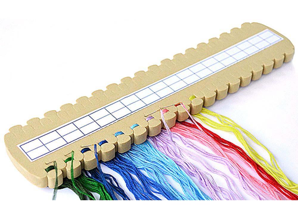 Органайзер для мулине на 36 цветовАксессуары для вышивки<br><br><br>Артикул: А300<br>Материал: Мягкий полимер<br>Упаковка: пакет