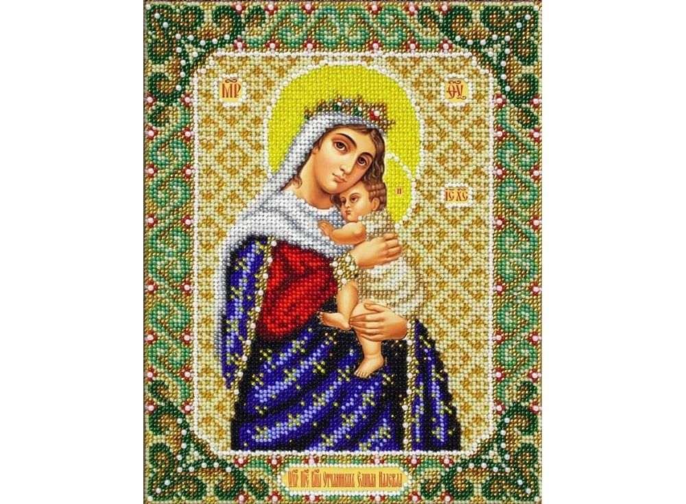 Набор вышивки бисером «Богородица Отчаянных единая надежда»Вышивка бисером<br><br>