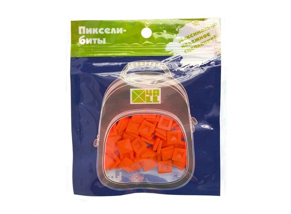 Биты 4ALL Case оранжевые, 80 шт.Пиксельные рюкзаки<br><br><br>Артикул: В22-06<br>Размер готовой модели: 9x9 см<br>Цвет: Оранжевый<br>Серия: 4ALL Case<br>Материал: Силикон<br>Возраст: от 3 лет<br>Размер битов: Большие<br>Количество битов: 80 шт.