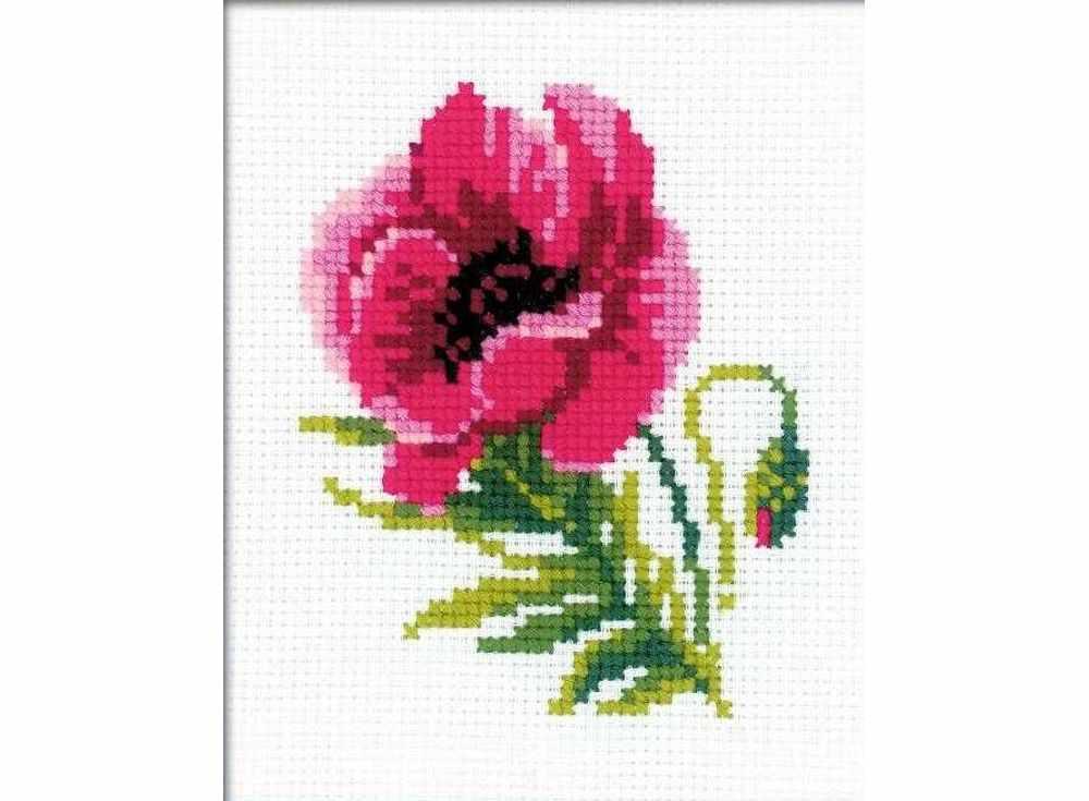 Набор для вышивания «Розовый мак»Вышивка крестом Риолис<br><br><br>Артикул: НВ134<br>Основа: канва 10 Aida Zweigart<br>Размер: 13x16 см<br>Техника вышивки: счетный крест<br>Серия: Риолис (Веселая пчелка)<br>Тип схемы вышивки: Цветная схема<br>Цвет канвы: Белый<br>Количество цветов: 8<br>Художник, дизайнер: Анна Петросян<br>Заполнение: Частичное<br>Игла: 1 вид<br>Рисунок на канве: не нанесён<br>Техника: Вышивка крестом<br>Нитки: шерсть/акрил Safil