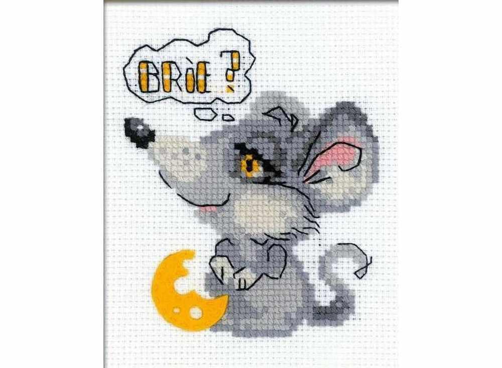 Набор для вышивания «Мечтательный мышонок»Вышивка смешанной техникой Риолис<br><br><br>Артикул: НВ140<br>Основа: канва 10 Aida Zweigart<br>Размер: 13x16 см<br>Техника вышивки: счетный крест+фетр<br>Тип схемы вышивки: Цветная схема<br>Цвет канвы: Белый<br>Количество цветов: Нитки шерсть: 7 цветов, фетр: 1 цвет<br>Художник, дизайнер: Александра Гусарова<br>Заполнение: Частичное<br>Игла: 1 вид<br>Рисунок на канве: не нанесён<br>Техника: Смешанная техника<br>Нитки: шерсть/акрил Safil