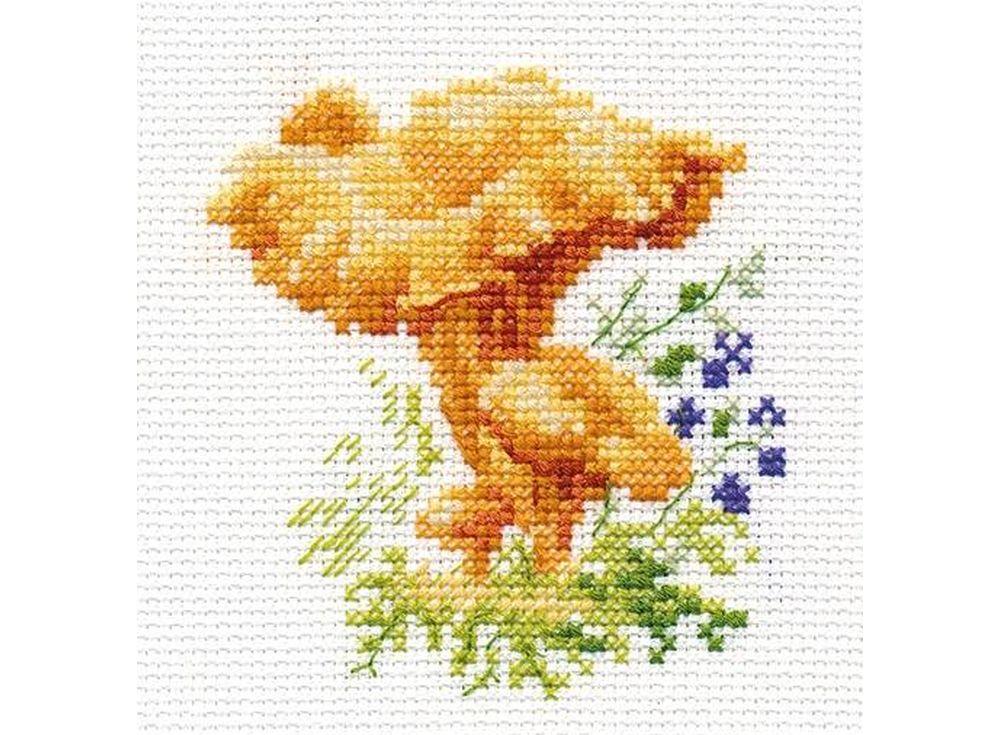 Набор для вышивания «Лисички»Вышивка крестом Алиса<br><br><br>Артикул: 0-143<br>Основа: канва Aida 14 100% хлопок Gamma<br>Размер: 9x9 см<br>Техника вышивки: счетный крест<br>Тип схемы вышивки: Цветная схема<br>Цвет канвы: Белый<br>Количество цветов: 10<br>Заполнение: Частичное<br>Игла: Gamma<br>Рисунок на канве: не нанесён<br>Техника: Вышивка крестом<br>Нитки: Мулине Gamma