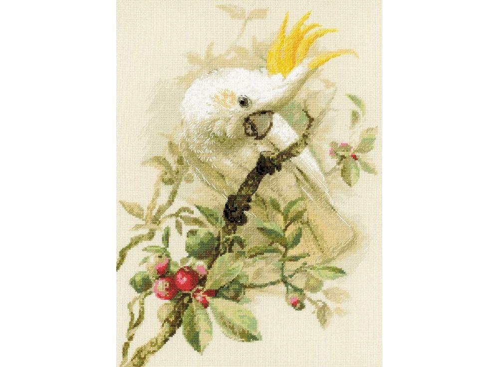 Набор для вышивания «Белый какаду»Вышивка крестом<br><br>