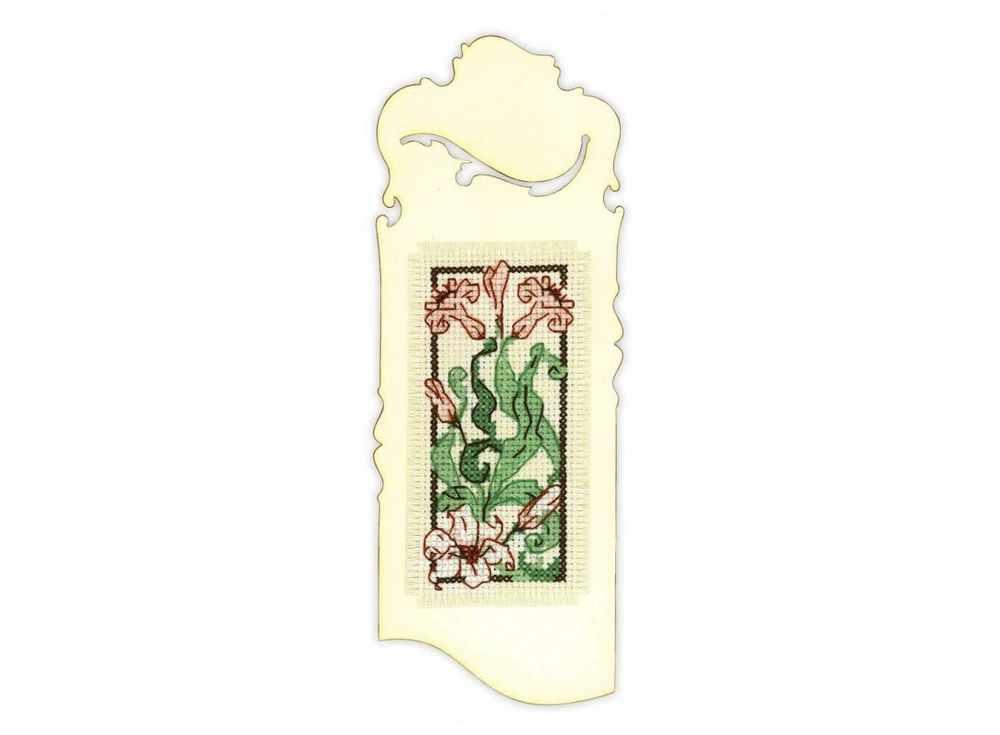 Набор для вышивания «Закладка. Изящная лилия»Вышивка крестом Риолис<br><br><br>Артикул: 1613АС<br>Основа: канва 18 Aida Zweigart<br>Размер: 6x16 см<br>Техника вышивки: счетный крест<br>Серия: Риолис (Сотвори Сама)<br>Тип схемы вышивки: Цветная схема<br>Цвет канвы: Бежевый<br>Количество цветов: 6<br>Художник, дизайнер: Александра Гусарова<br>Заполнение: Частичное<br>Игла: 1 вид<br>Рисунок на канве: не нанесён<br>Техника: Вышивка крестом<br>Нитки: мулине Anchor