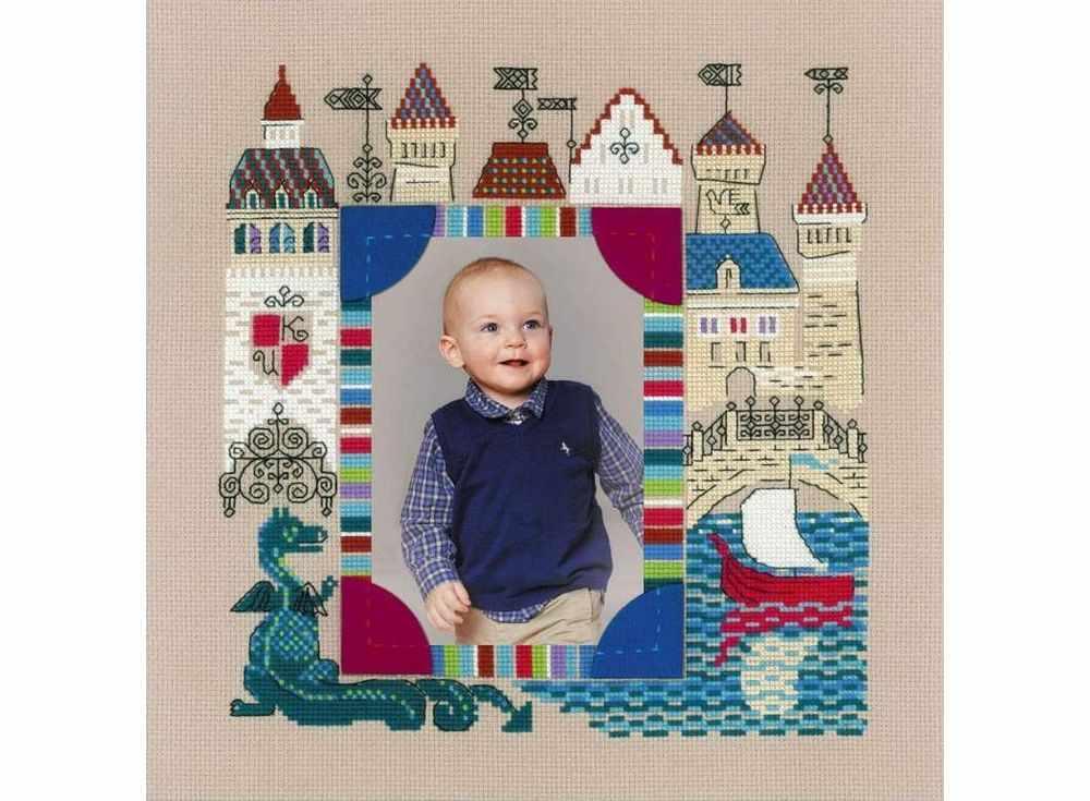 Набор для вышивания «Панно для фотографии. Рыцарский замок»