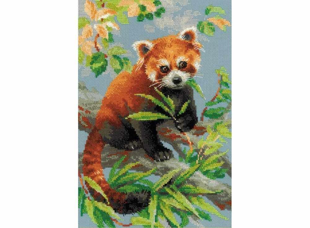Набор для вышивания «Красная панда»Вышивка крестом Риолис<br><br>