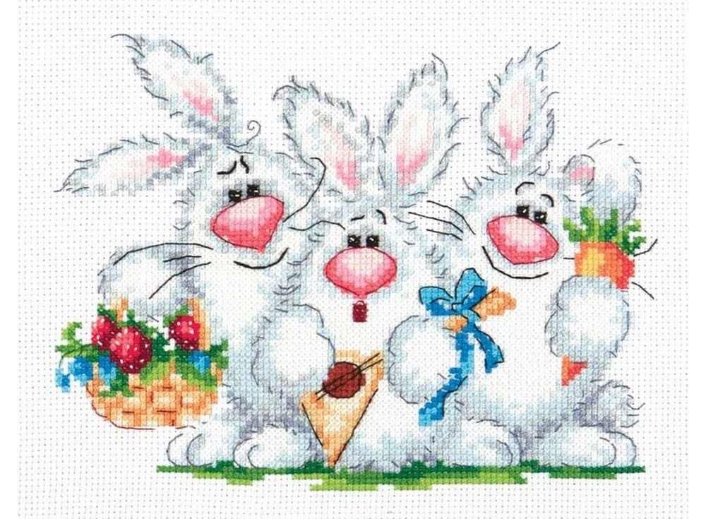 Набор для вышивания «Любим повеселиться!»Вышивка крестом Чудесная игла<br><br><br>Артикул: 18-88<br>Основа: канва Aida 14 (хлопок)<br>Размер: 19x15 см<br>Техника вышивки: счетный крест<br>Тип схемы вышивки: Цветная схема<br>Цвет канвы: Белый<br>Количество цветов: 23<br>Заполнение: Частичное<br>Игла: №24<br>Рисунок на канве: не нанесён<br>Техника: Вышивка крестом<br>Нитки: Мулине 100% хлопок Bestex