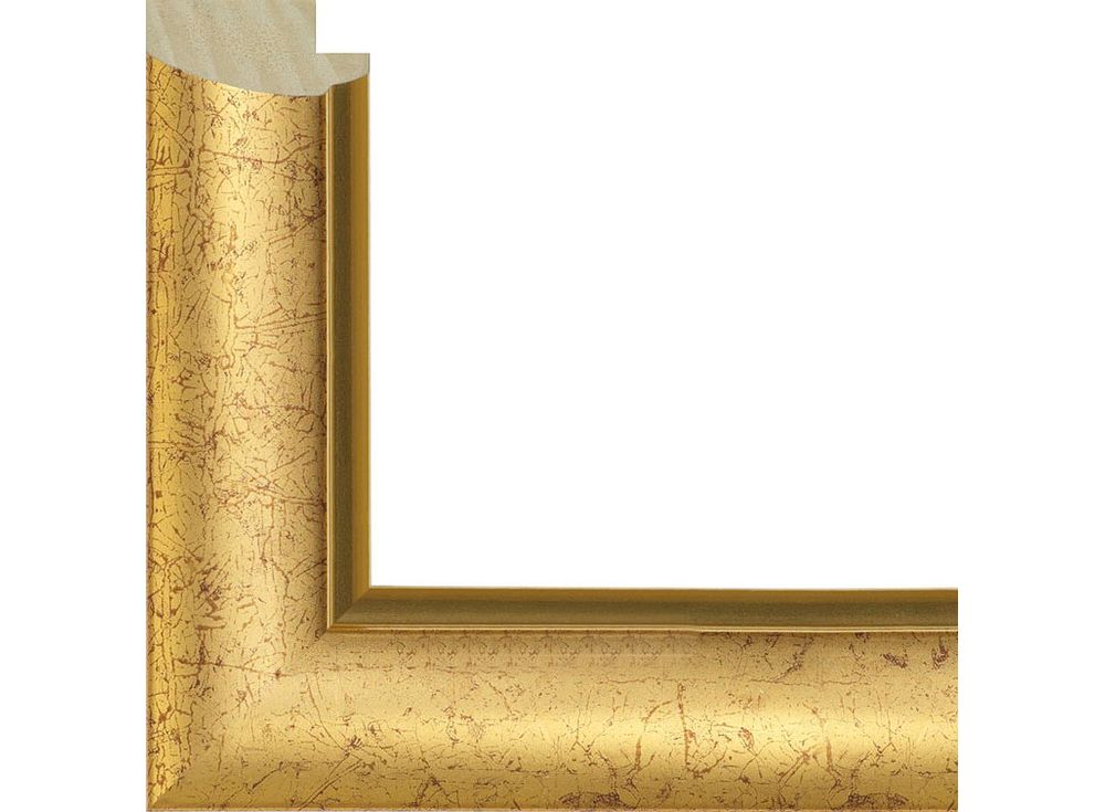 Рамка без стекла для картинБагетные рамки<br><br><br>Артикул: 291014-4050<br>Размер: 40x50 см<br>Цвет: Золото<br>Ширина: 30 мм<br>Материал багета: Пластик<br>Толщина профиля багета: 16 мм