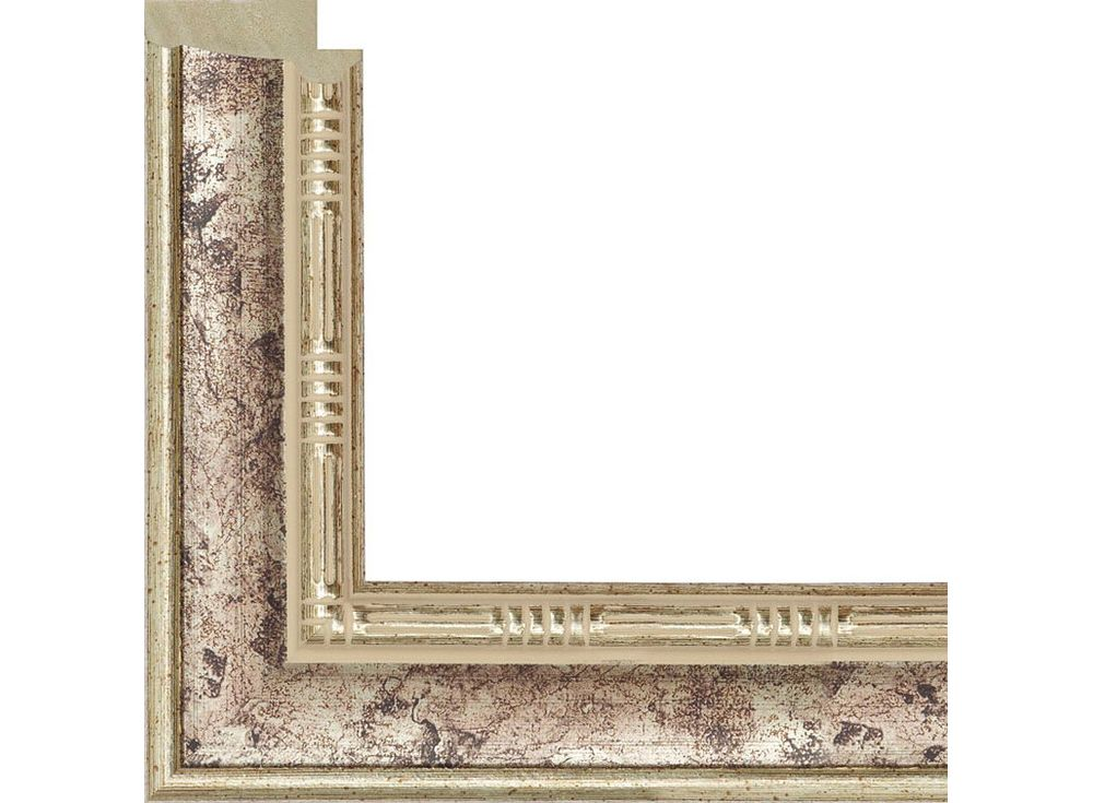 Рамка без стекла для картинБагетные рамки<br><br><br>Артикул: 317027-4040<br>Размер: 40x40 см<br>Цвет: Платина<br>Ширина: 29 мм<br>Материал багета: Пластик<br>Глубина багета: 14 мм