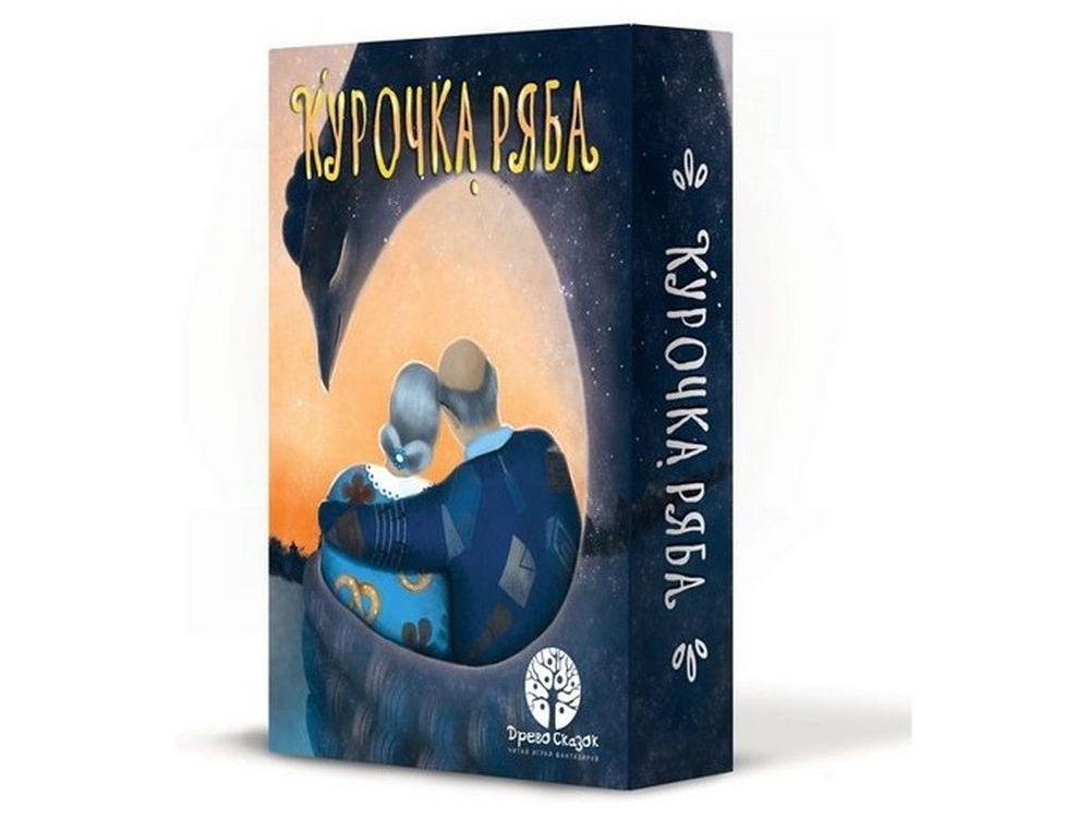 Настольная игра «Курочка Ряба»Настольные развивающие игры<br>Настольная игра Курочка Ряба подарит вам множество положительных эмоций. Рассматривая иллюстрированные карточки, вы сможете восстановить события известной народной сказки Курочка Ряба, а также придумать совершенно новые сюжеты с участием героев сказки и...<br><br>Артикул: 41750<br>Размер упаковки: 15,7x11x3,5 см<br>Возраст: от 3 лет<br>Время игры: от 15 мин.<br>Количество игроков: 2+<br>Аудитория: Детские