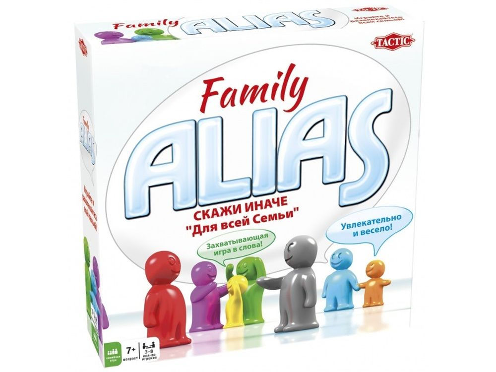Настольная игра «Скажи Иначе для всей семьи, компактная версия 2»Настольные логические игры<br>Настольная игра «Скажи Иначе для всей семьи, компактная версия 2» - веселая семейная игра для развлечения в дороге! Покрути рулетку и узнай, кому ты будешь объяснять слово на этот раз. За каждое правильно угаданное слово оба партнера получают возможность ...<br><br>Артикул: 53374<br>Размер упаковки: 18x11x3,6 см<br>Возраст: от 7 лет<br>Время игры: 30-60 мин.<br>Количество игроков: 3+<br>Аудитория: Детские
