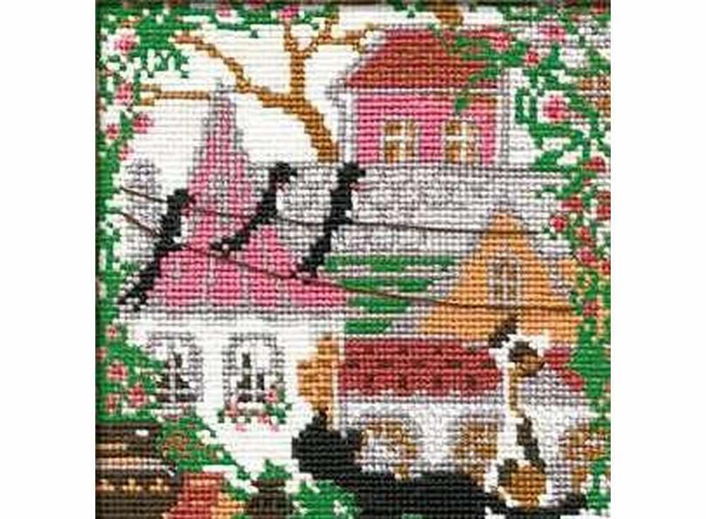 Набор для вышивания «Город и кошки.Лето»Вышивка крестом Риолис<br><br><br>Артикул: 612<br>Основа: канва 15 Aida Zweigart<br>Размер: 13x13 см<br>Техника вышивки: счетный крест<br>Серия: Риолис (Сотвори Сама)<br>Тип схемы вышивки: Цветная схема<br>Цвет канвы: Белый<br>Количество цветов: 10<br>Художник, дизайнер: Галина Скабеева<br>Заполнение: Полное<br>Игла: 1 вид<br>Рисунок на канве: не нанесён<br>Техника: Вышивка крестом<br>Нитки: шерсть/акрил Safil