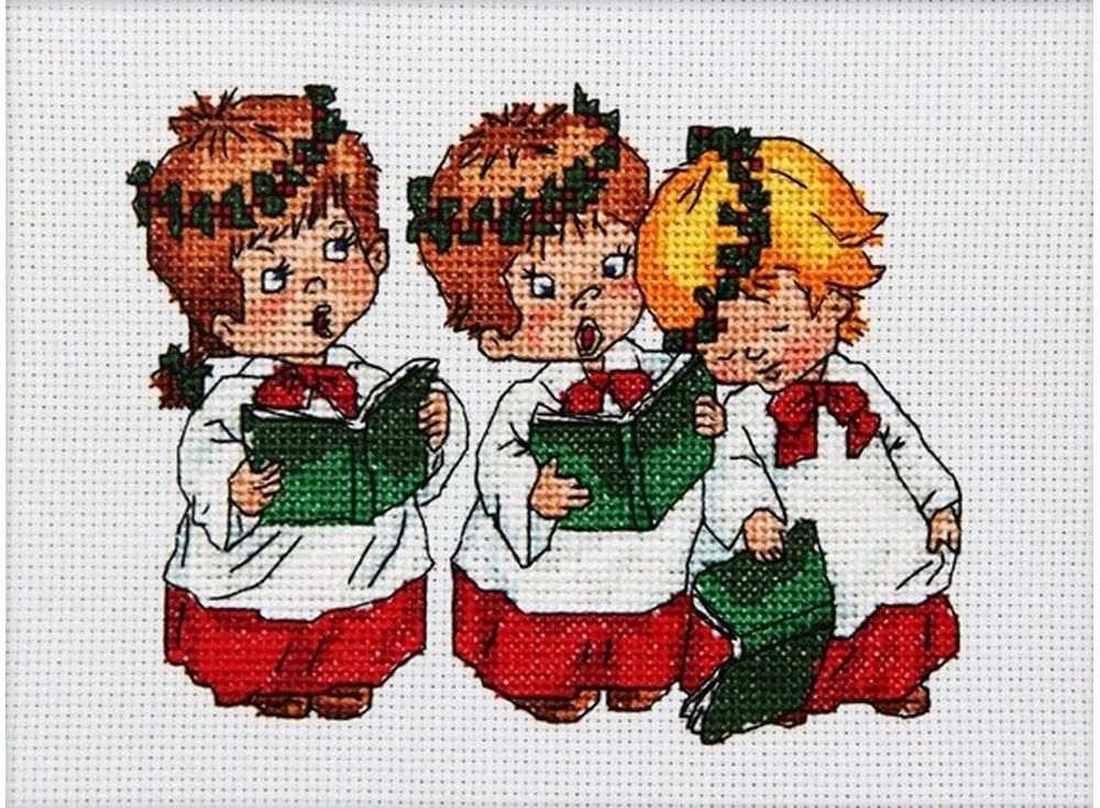 Набор для вышивания «Рождественские песни»Вышивка крестом Астрея (Глурия)<br><br><br>Артикул: 641<br>Основа: канва 14 Aida Zweigart<br>Размер: 15x12 см<br>Техника вышивки: счетный крест<br>Тип схемы вышивки: Цветная схема<br>Цвет канвы: Белый<br>Количество цветов: 21<br>Художник, дизайнер: Татьяна Марчукова<br>Заполнение: Частичное<br>Рисунок на канве: не нанесён<br>Техника: Вышивка крестом<br>Нитки: Мулине DMC