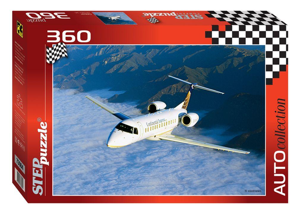 Пазлы «Самолёт»Пазлы от производителя Step Puzzle<br><br><br>Артикул: 73064<br>Размер: 50x34,5 см<br>Возраст: от 6 лет