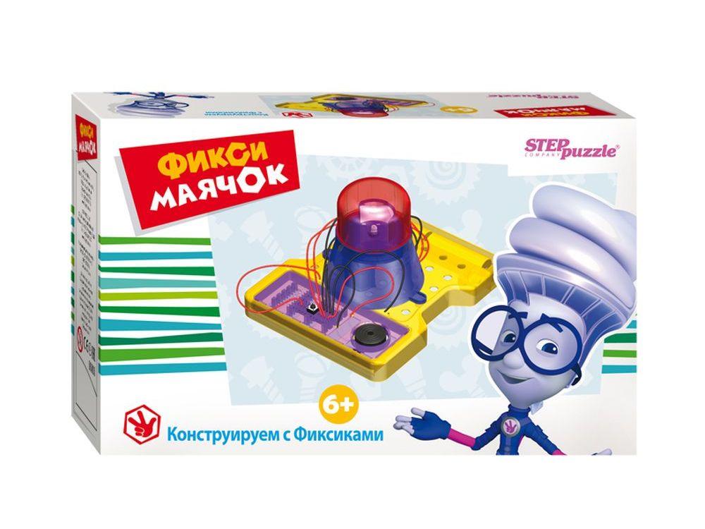 Развивающая игра «Фикси-маячок»Наборы для опытов и экспериментов<br>Игра-конструктор «Фикси-маячок» — увлекательная развивающая игра для детей.<br> С помощью этого набора ребенок получит представление об электричестве, сможет составить электрическую цепь, сделает своими руками работающее устройство.<br><br> Зачем это ребенку?<br>...<br><br>Артикул: 76159<br>Размер упаковки: 16x12,5x6 см<br>Возраст: от 6 лет<br>Количество игроков: 1+<br>Аудитория: Детские