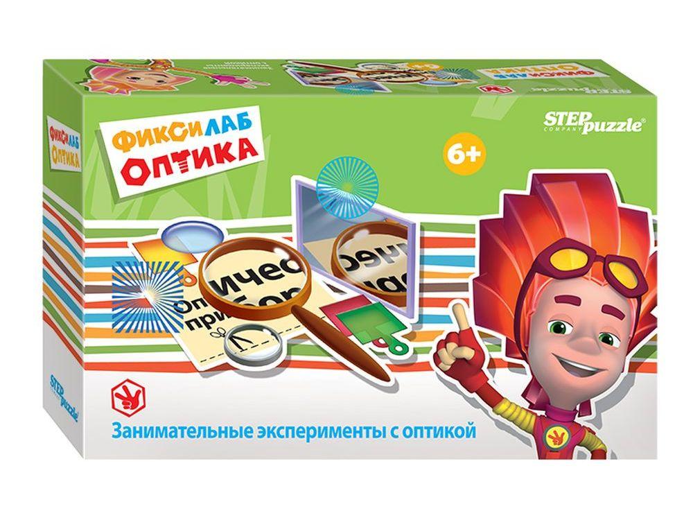 Развивающая игра «Фиксилаб. Оптика»Наборы для опытов и экспериментов<br>Развивающая игра Фиксилаб. Оптика ? это эффективное средство обучения, которое развивает у ребенка познавательную активность и помогает исследовать окружающий мир. Комплект содержит все необходимое для проведения опытов с компасом, а также подробную инс...<br><br>Артикул: 76168<br>Размер упаковки: 20,5x13x5,5 см<br>Возраст: от 6 лет<br>Количество игроков: 1+<br>Аудитория: Детские