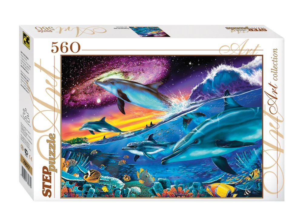 Пазлы «Подводный мир»Пазлы от производителя Step Puzzle<br><br><br>Артикул: 78077<br>Размер: 50x34,5 см<br>Возраст: от 7 лет