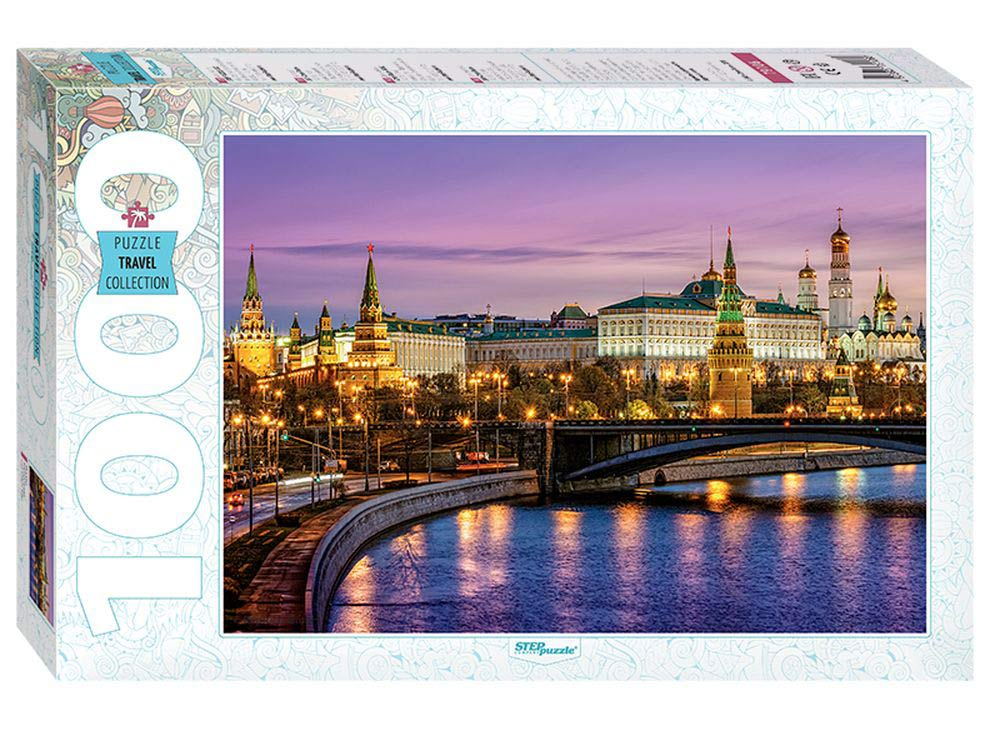 Пазлы «Москва. Набережная»Пазлы от производителя Step Puzzle<br><br><br>Артикул: 79106<br>Размер: 68x48 см<br>Возраст: от 7 лет