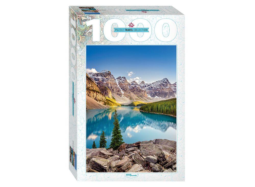 Пазлы «Озеро в горах»Пазлы от производителя Step Puzzle<br><br><br>Артикул: 79120<br>Размер: 68x48 см<br>Возраст: от 7 лет