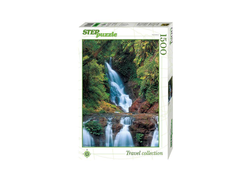 Пазлы «Водопад»Пазлы от производителя Step Puzzle<br><br><br>Артикул: 83004<br>Размер: 85x58 см<br>Возраст: от 8 лет