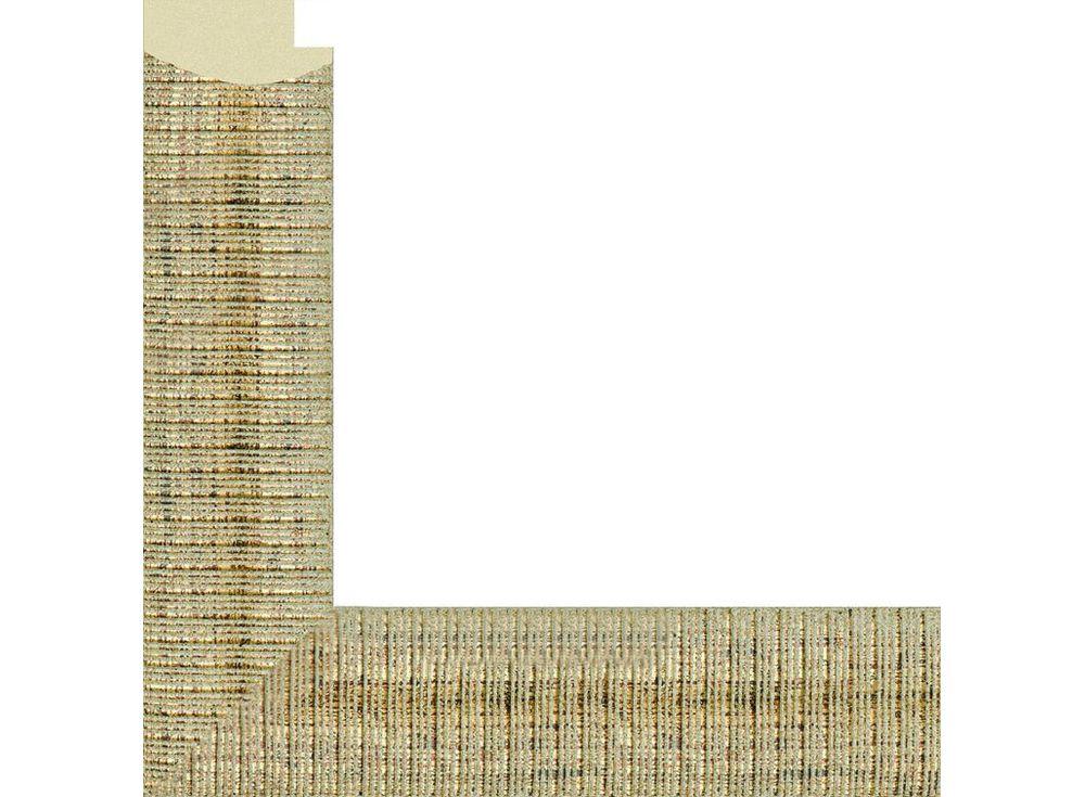 Рамка без стекла для картинБагетные рамки<br><br><br>Артикул: 858098-4050<br>Размер: 40x50 см<br>Цвет: Золото<br>Ширина: 37 мм<br>Материал багета: Пластик<br>Глубина багета: 18 мм